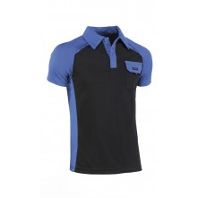 POLO TOP RANGE AZUL-NEGRO